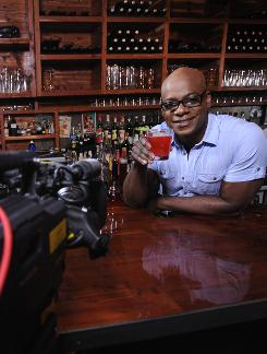 Drink Up! host Darryl Robinson is an actor who has spent 15 years behind the bar. There's a trick to making good mojitos, he says.