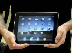 Apple has sold 2 million iPads since its launch two months ago.