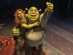 Shrek Forever After is the top film in the USA for the third consecutive week.