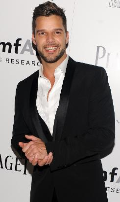 Ricky Martin will play the character Che in the Broadway revival of Evita.