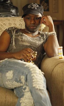 Hypnotic performance: Nelsan Ellis has drawn critical praise for his role as Lafayette on HBO's vampire-centric drama.
