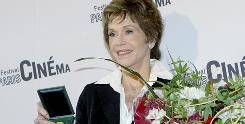 Jane Fonda was given the Vermeil Medal of the City of Paris on Thursday.