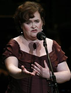 Susan Boyle's rep says the singer is expected to perform at a papal mass in Glasgow on Sept. 16.