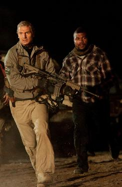 New Hannibal and B.A.: Liam Neeson and Quinton &quot;Rampage&quot; Jackson.