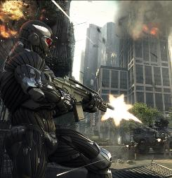 Crysis 2 is the sequel to the popular PC game. It's due out later this year and will be a 3-D adventure.