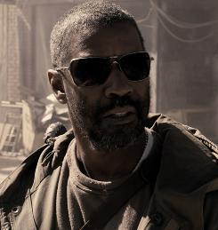 Denzel Washington is Eli, a peacekeeper traveling a destitute land.
