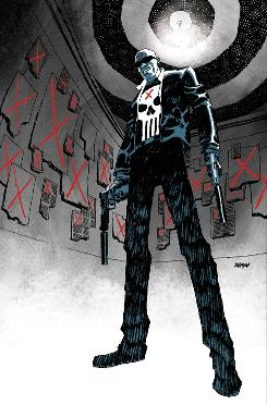 Cover image to PunisherMAX from Marvel Comics.