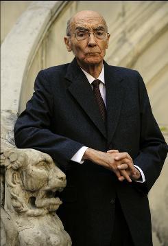 Portuguese writer Jose Saramago died June 18 at age 87.