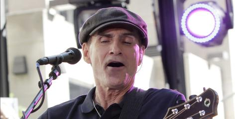 Singer/songwriter James Taylor is out with a two-disc DVD/CD set with Carole King titled 