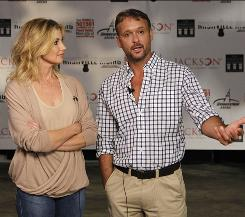 On Monday, Faith Hill and Tim McGraw talked about spearheading the Nashville Rising concert scheduled for Tuesday in Nashville.