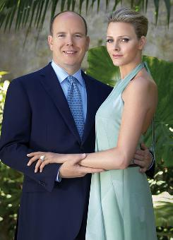 Prince Albert, 52,  is engaged to South African former swimmer Charlene Wittstock, 32.