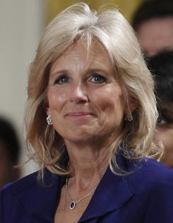 Jill Biden, who will appear in Army Wives, hopes to raise awareness of the the contributions by U.S. men and women in uniform as well as their families.
