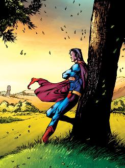 The Grounded story line in D.C. Comics' long-running Superman could feature your hometown.