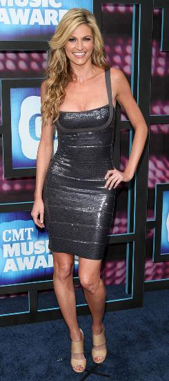 Erin Andrews at the 2010 CMT Music Awards in Nashville on June 9.