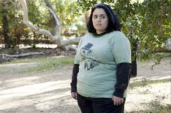 Will (Nikki Blonsky) is not too happy to have been shipped off to Camp Victory to lose weight.