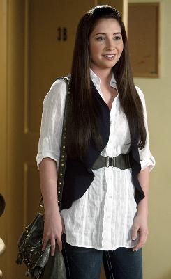 Busy mom: Bristol Palin, 19, will appear on Monday's episode of The Secret Life of the American Teenager.