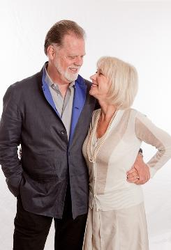 Working relationship: Helen Mirren and Taylor Hackford have worked together on two films. The latest, Love Ranch, opens Wednesday.