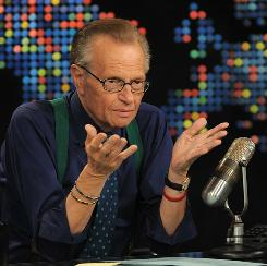 Cable news pioneer Larry King announced Tuesday that he'll end his long-running show on CNN this fall.