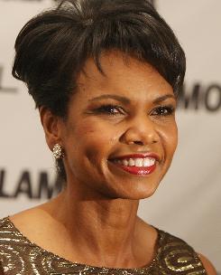 Condoleeza Rice will accompany Aretha Franklin on the piano at the event.