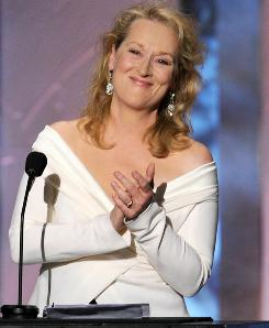 Meryl Streep has starred in films such as Julie & Julia, Sophie's Choice and Out of Africa.