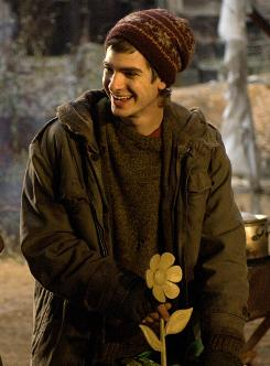 Andrew Garfield, shown here in The Imaginarium of Doctor Parnassus, will be the next Spider-Man, Sony Pictures announced Thursday.