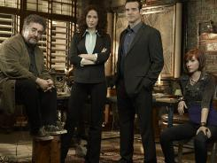 Warehouse 13's second season will foster more of a family dynamic among Artie (Saul Rubinek, left) Myka (Joanne Kelly), Pete Lattimer (Eddie McClintock) and Claudia (Allison Scagliotti).