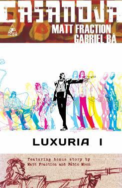 Cover to 'Casanova' from Icon.