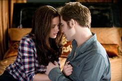 Bella (Kristen Stewart), who has been saving herself for marriage and immortality, is prepared to do what it takes to be with Edward (Robert Pattinson) for all eternity.