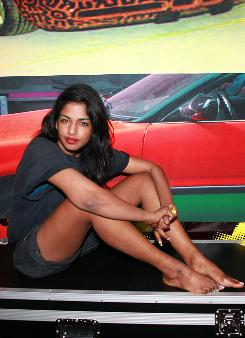 Radical chick: M.I.A.'s Maya continues her agit-pop journey.