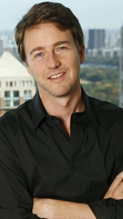 Edward Norton has starred in films such as American History X and Hulk.