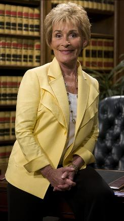 Judith Sheindlin has reason to smile. Her courtroom show, entering its 15th year, still rules the ratings. In court, though, her smile can turn stern when she's confronted by ditzy defendants.