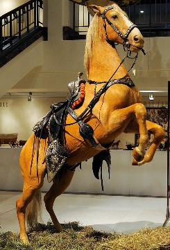 Trigger, the famed horse ridden by Roy Rogers, was sold at auction on Wednesday in New York City.