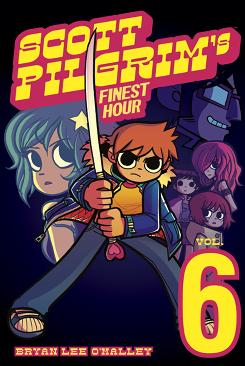 Cover to 'Scott Pilgrim's Finest Hour' by Oni Press