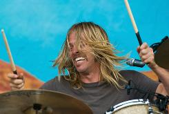 Taylor Hawkins and the Coattail Riders at the Wireless Festival in Hyde Park on July 2 in London.