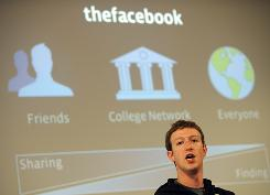 Mark Zuckerberg 's baby, Facebook, hit 500 million users on Wednesday.