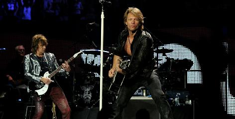 Jon Bon Jovi: He tore his calf muscle during a show in New Jersey.