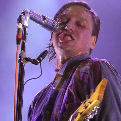 Win Butler of  Arcade Fire performs at the Cisco Ottawa Bluesfest on  July 13.