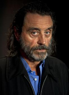 Ian McShane's Bishop Bigod is one flamboyant schemer in the eight-part miniseries The Pillars of the Earth.