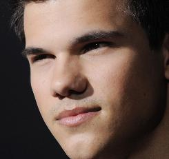 Taylor Lautner stars in the Twilight series.