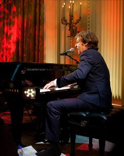Gershwin Prize-winner Paul McCartney plays some of his favorite songs in the East Room of the White House. As a father, though, the entertainer works his schedule around daughter Beatrice, 6.