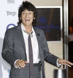 British musician Ronnie Wood is expected to attend the opening of an exhibit of his artwork at an Ohio Museum in September.