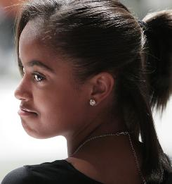 Malia Obama, 12, is away at sleepaway camp this summer for the first time, a classic American rite of passage for the president's daughter.