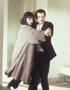 From Miramax's heyday: 1994's Pulp Fiction, starring Uma Thurman and John Travolta, won the best original screenplay Oscar and collected another six nominations.