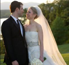 Chelsea Clinton married Mark Mezvinsky on Saturday in Rhinebeck, N.Y.