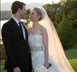 Chelsea Clinton married Mark Mezvinsky on Saturday in Rhinebeck, N.Y.