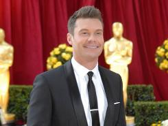 Ryan Seacrest, seen arriving at the 82nd annual Academy Awards at the Kodak Theatre in March, says it could be weeks before American Idol  judges are in place.