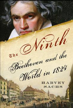Book cover of Harvey Sachs' new biography of Ludwig van Beethoven.