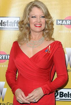 In this January file photo, Mary Hart arrives at a Golden Globes afterparty in Beverly Hills. Hart has announced she will be leaving Entertainment Tonight after the next season.