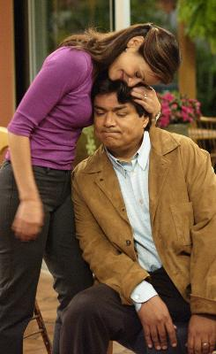 Constance Marie, seen here in a file image from George Lopez, stars in the Hallmark Channel's Class.