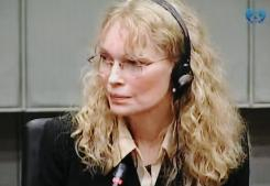 Mia Farrow was in the Hague, Netherlands on Monday to testify that former Liberian president Charles Taylor gave model Naomi Campbell a large, uncut diamond in 1997.